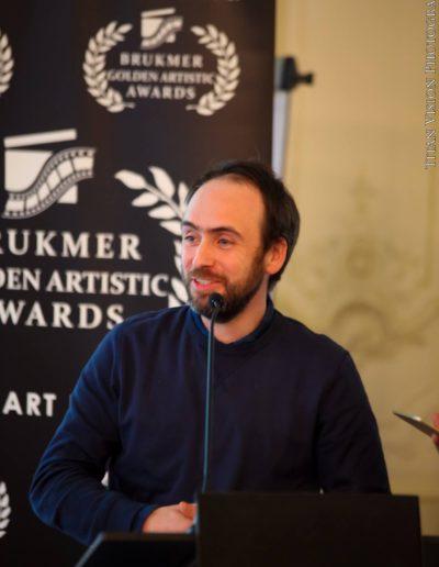 François Pirot Brukmer golden artistic awards 2016