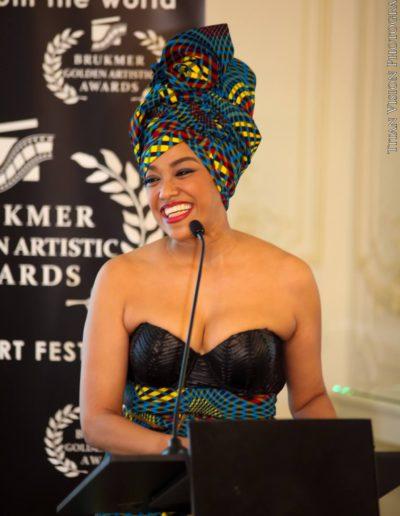 Cérina de Rosen Brukmer golden artistic awards 2016