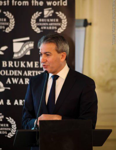 Brukmer golden artistic awards 2016 Emir Kir