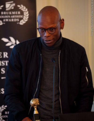 Brukmer golden artistic awards 2016 Frank Luckaz