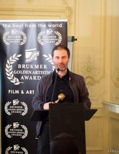 Brukmer golden artistic awards 2016 François Pirot