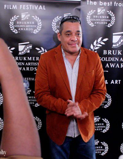 Brukmer golden artistic awards 2017 fabrice Masuka