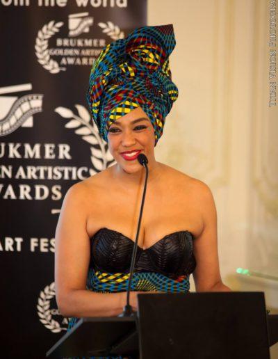 Brukmer golden artistic awards 2016 Cerina de Rosen