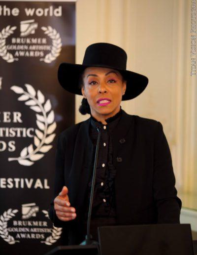 Brukmer golden artistic awards 2016 marie daulne de Zap mama