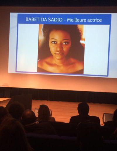 Brukmer golden artistic awards 2018 babetida sadjo